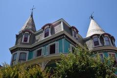 维多利亚女王时代的房子在开普梅,新泽西 免版税图库摄影