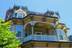 维多利亚女王时代的房子在开普梅,新的Jersey_2 免版税库存图片