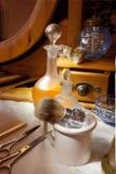 维多利亚女王时代的理发店 库存图片