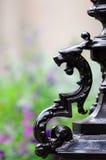 维多利亚女王时代的街灯 免版税库存照片