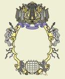 维多利亚女王时代的边界2 库存照片