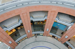 维多利亚广场购物中心 免版税库存图片