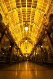 维多利亚拱廊 免版税库存图片