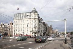 维多利亚旅馆在阿姆斯特丹 免版税库存图片