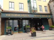维多利亚旅馆戈尔韦市中心 免版税库存照片