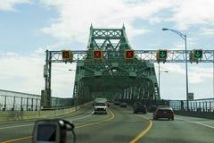 维多利亚桥梁蒙特利尔 免版税库存照片