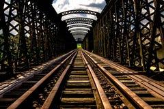 维多利亚桥梁 库存照片