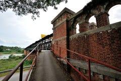 维多利亚桥梁 库存图片