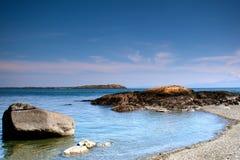 维多利亚海滩 库存照片