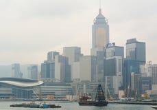 维多利亚港口看法  免版税库存图片