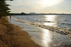 维多利亚湖岸  库存图片