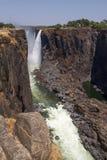 维多利亚瀑布峡谷,南非- 11/2013 图库摄影
