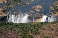 维多利亚瀑布,津巴布韦 库存照片