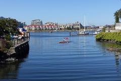 维多利亚的渔夫的码头 免版税图库摄影