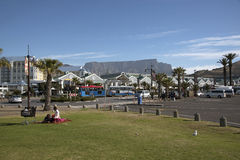 维多利亚码头复杂开普敦南非 库存照片