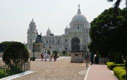 维多利亚纪念加尔各答印度 免版税库存照片