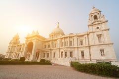 维多利亚纪念品印度 库存照片