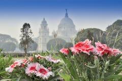 维多利亚纪念品,加尔各答,印度-历史纪念碑 免版税库存照片