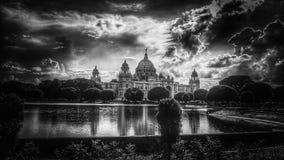 维多利亚纪念品,加尔各答,印度 库存图片