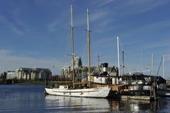 维多利亚,不列颠哥伦比亚省,加拿大港口  库存照片