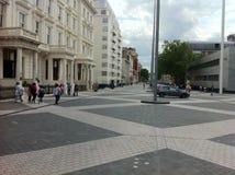 维多利亚派出所在伦敦 免版税库存照片