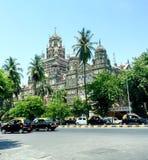 维多利亚终点,孟买印度 库存图片