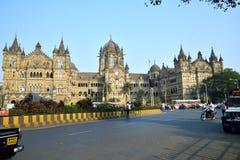 维多利亚终点,孟买 免版税库存图片