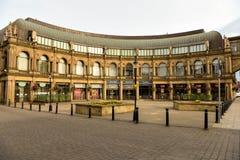 维多利亚购物中心 Harrogate 2017年8月 库存图片