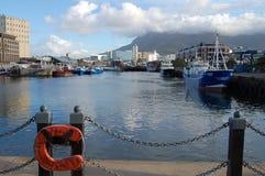 维多利亚&阿尔弗莱德江边-开普敦-南非 免版税库存图片