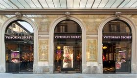 维多利亚` s秘密商店在佛罗伦萨,意大利 库存照片