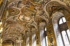多利亚Pamphilj画廊,罗马,意大利 图库摄影