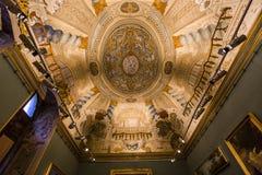 多利亚Pamphilj画廊,罗马,意大利 库存照片