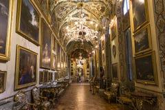 多利亚Pamphilj画廊,罗马,意大利 免版税库存图片