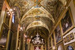 多利亚Pamphilj画廊,罗马,意大利 免版税库存照片