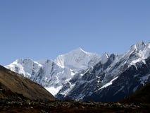 多吉Lhakpa山 库存照片