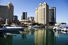 多哈卡塔尔状态 免版税库存图片