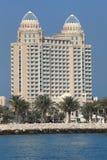 多哈四个旅馆卡塔尔季节 库存照片