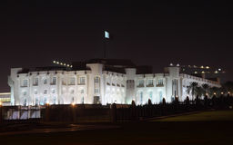 多哈埃米尔宫殿卡塔尔s 库存图片