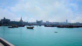 多哈港口,卡塔尔 影视素材