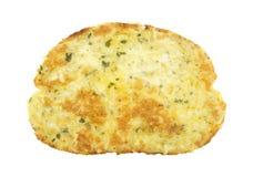 多士用乳酪和大蒜 库存图片