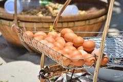 多士鸡蛋 图库摄影