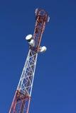 多孔的通信塔的片段  库存图片
