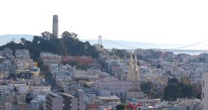 多小山街道在旧金山 股票录像
