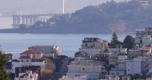 多小山街道在旧金山 股票视频