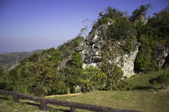 多小山风景南,泰国 图库摄影