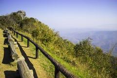 多小山风景南,泰国 免版税库存图片