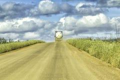多尔顿高速公路在阿拉斯加 免版税图库摄影