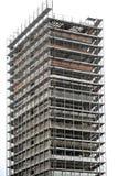 多层的房屋建设 库存图片