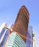 多层的楼房建筑 免版税库存照片