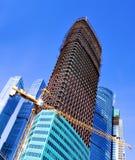 多层的楼房建筑 库存图片